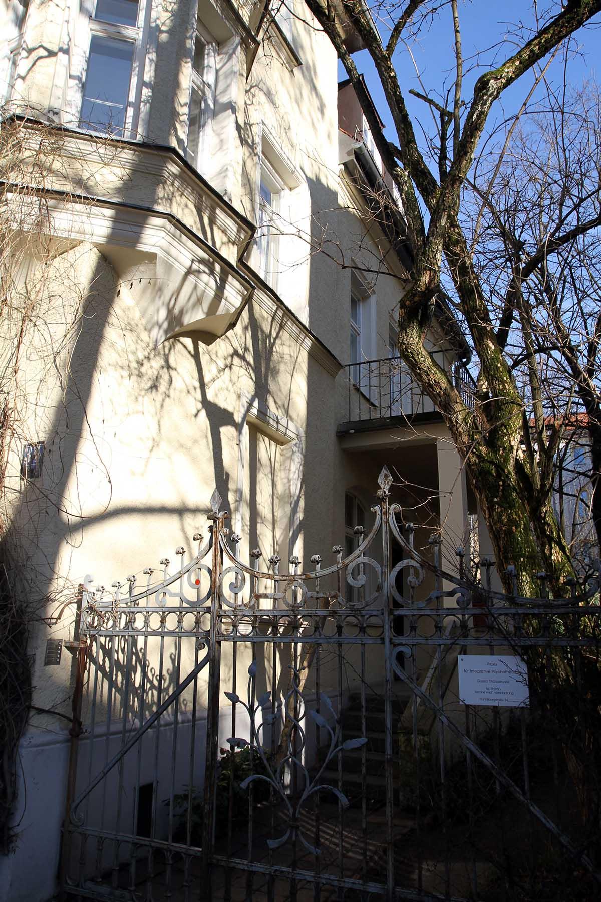 Praxis für Psychotherapie in Müchen Neuhausen in der Frundsbergstraße 34