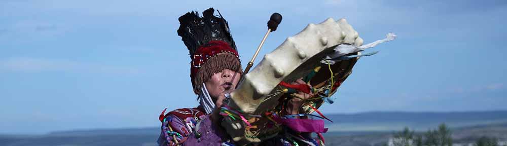Liudmila Oyun aus Tuva