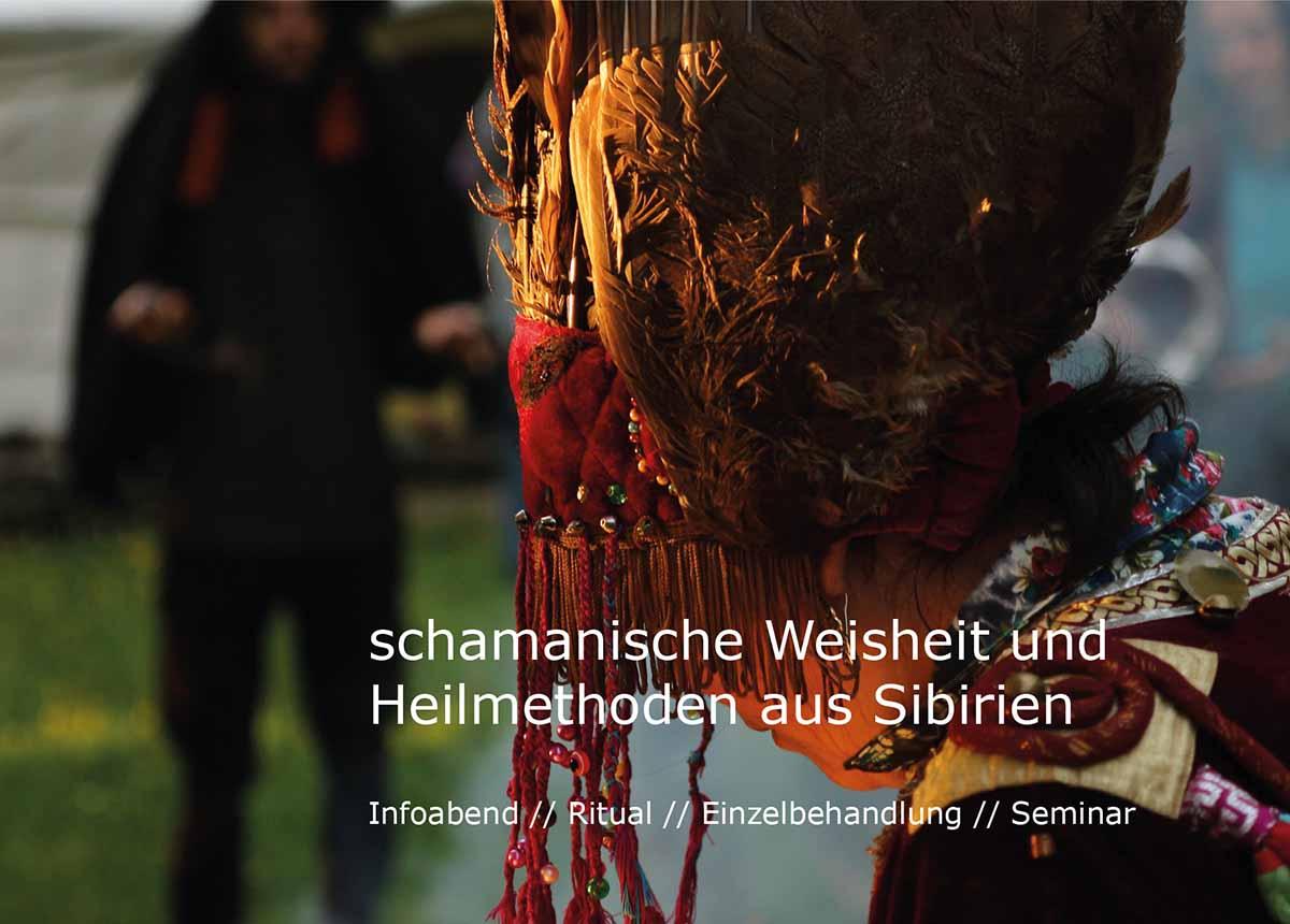 Seminare und Feuerritual sibirischer Schamanismus